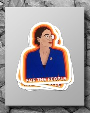 For the people Sticker - 4 pack (Vertical) aos-sticker-4-pack-vertical-lifestyle-front-09