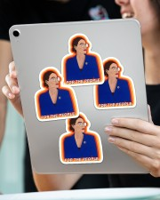 For the people Sticker - 4 pack (Vertical) aos-sticker-4-pack-vertical-lifestyle-front-11