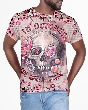 In October we wear Pink All-over T-Shirt aos-all-over-T-shirt-lifestyle-front-04