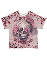 In October we wear Pink All-over T-Shirt front