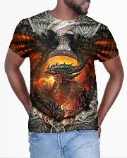 Dragon burn All-over T-Shirt aos-all-over-T-shirt-lifestyle-front-04