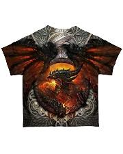 Dragon burn All-over T-Shirt back