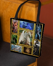Mythical dragons All-over Tote aos-all-over-tote-lifestyle-front-02