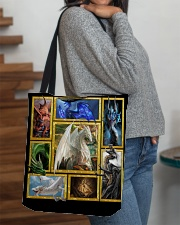 Mythical dragons All-over Tote aos-all-over-tote-lifestyle-front-09