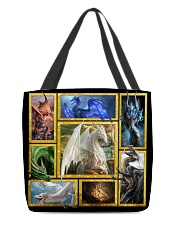 Mythical dragons All-over Tote back