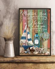 Mightier than the waves 11x17 Poster lifestyle-poster-3