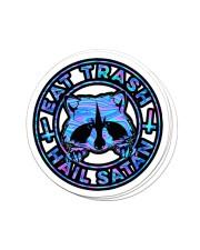 Hail satan Sticker - 4 pack (Vertical) front