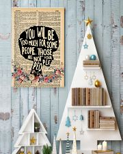 You will be too much 11x17 Poster lifestyle-holiday-poster-2