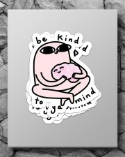 Be kind to ya mind Sticker - 4 pack (Vertical) aos-sticker-4-pack-vertical-lifestyle-front-09