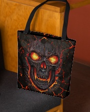 Burning skull All-over Tote aos-all-over-tote-lifestyle-front-02