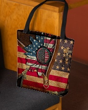 Patriotic sunflower All-over Tote aos-all-over-tote-lifestyle-front-02