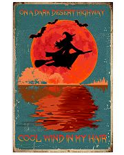 On a dark desert highway cool wind in my hair 11x17 Poster front