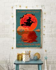 On a dark desert highway cool wind in my hair 11x17 Poster lifestyle-holiday-poster-3