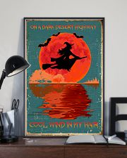 On a dark desert highway cool wind in my hair 11x17 Poster lifestyle-poster-2