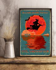 On a dark desert highway cool wind in my hair 11x17 Poster lifestyle-poster-3