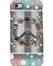 Peace Gemstone pattern print Phone Case i-phone-8-case