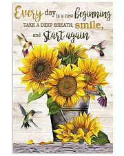 Every day is a new beginning 11x17 Poster front