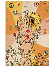 Peace and love 11x17 Poster front
