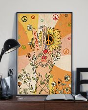 Peace and love 11x17 Poster lifestyle-poster-2