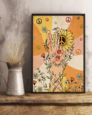 Peace and love 11x17 Poster lifestyle-poster-3
