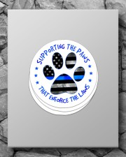 Supporting the paws Sticker - 4 pack (Vertical) aos-sticker-4-pack-vertical-lifestyle-front-09