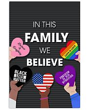 In this family we believe 11x17 Poster front