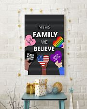 In this family we believe 11x17 Poster lifestyle-holiday-poster-3