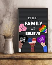 In this family we believe 11x17 Poster lifestyle-poster-3