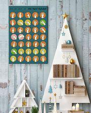 Asl retro alphabet 11x17 Poster lifestyle-holiday-poster-2
