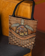 Turtle lover All-over Tote aos-all-over-tote-lifestyle-front-02