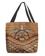 Turtle lover All-over Tote back
