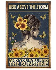 Rise above the storm 11x17 Poster front