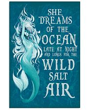 She dreams of the ocean late at night 11x17 Poster front