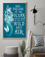 She dreams of the ocean late at night 11x17 Poster lifestyle-poster-1