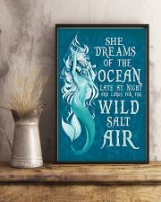 She dreams of the ocean late at night 11x17 Poster lifestyle-poster-3
