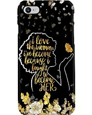 I love the woman I've become Phone Case i-phone-8-case