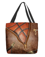 Basketball tote All-over Tote front