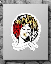 I am my ancestor's wildest dream Sticker - 4 pack (Vertical) aos-sticker-4-pack-vertical-lifestyle-front-09