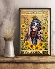 Wild heart gypsy soul 11x17 Poster lifestyle-poster-3
