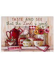 Taste and see that the Lord is good 17x11 Poster front