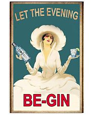 Let the evening begin 11x17 Poster front