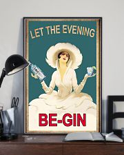 Let the evening begin 11x17 Poster lifestyle-poster-2
