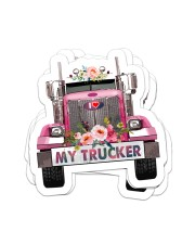 I love my trucker Sticker - 4 pack (Vertical) front