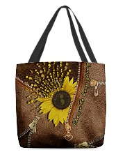 Choose to keep going All-over Tote back