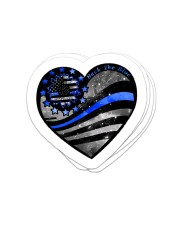 Back the blue Sticker - 4 pack (Vertical) front