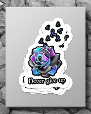 Never give up Sticker - 4 pack (Vertical) aos-sticker-4-pack-vertical-lifestyle-front-09