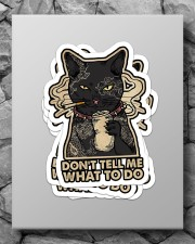 Don't tell me what to do Sticker - 4 pack (Vertical) aos-sticker-4-pack-vertical-lifestyle-front-09