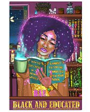 Bae black and educated 11x17 Poster front