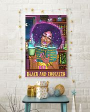 Bae black and educated 11x17 Poster lifestyle-holiday-poster-3