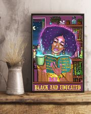 Bae black and educated 11x17 Poster lifestyle-poster-3